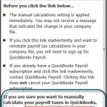 how to do manual payroll in quickbooks 2014