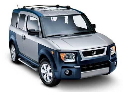 2003 honda element manual mpg