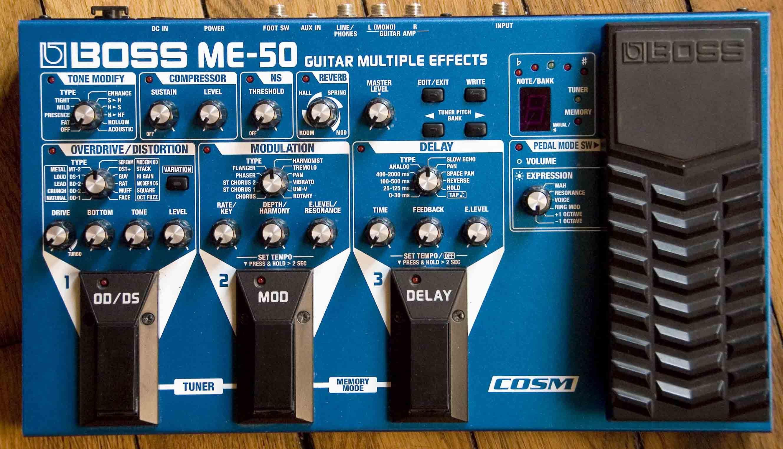 boss me-30 guitar multiple effects manual