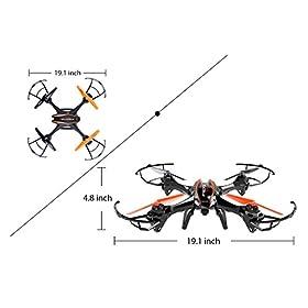 drone wifi gravity sky vampire manual