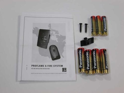 kingsman fireplaces remote control manual