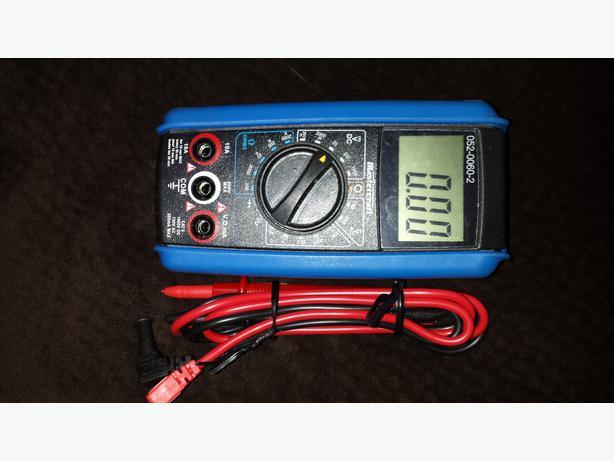 52-0052-2 multimeter manual