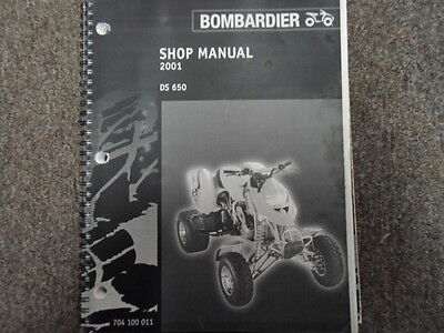 2004 bombardier outlander 330 400 factory service manual