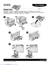 xerox phaser 3600 instruction manual
