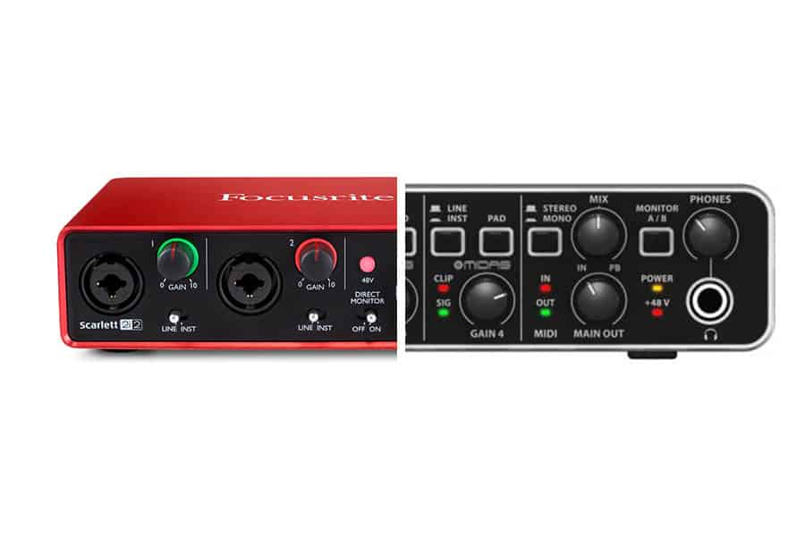 focusrite scarlett 2i2 usb audio interface manual