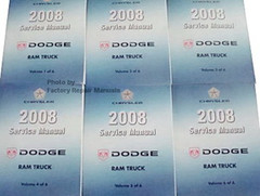 2008 dodge ram factory service manual