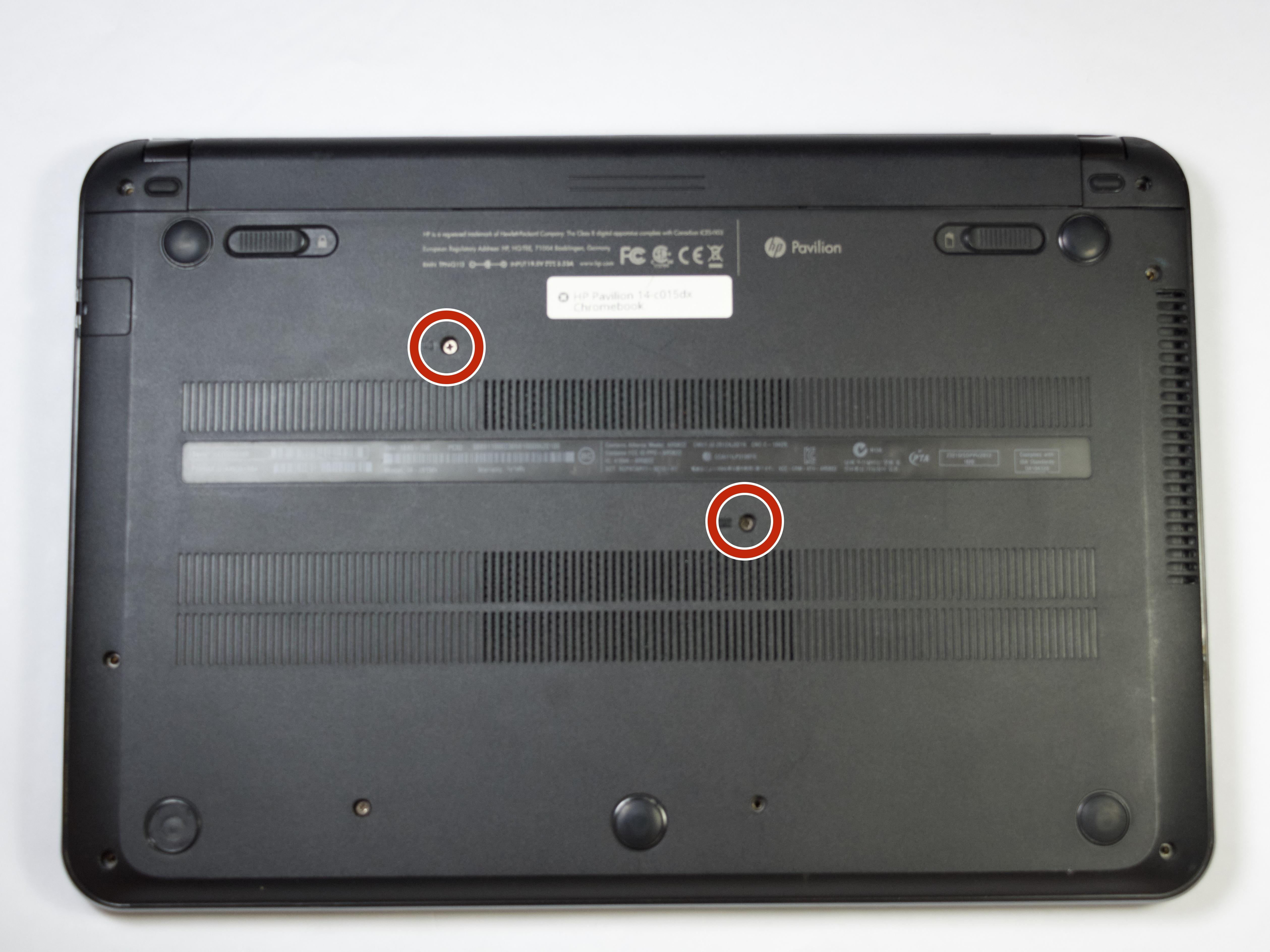 hp chromebook 14 ak050nr manual