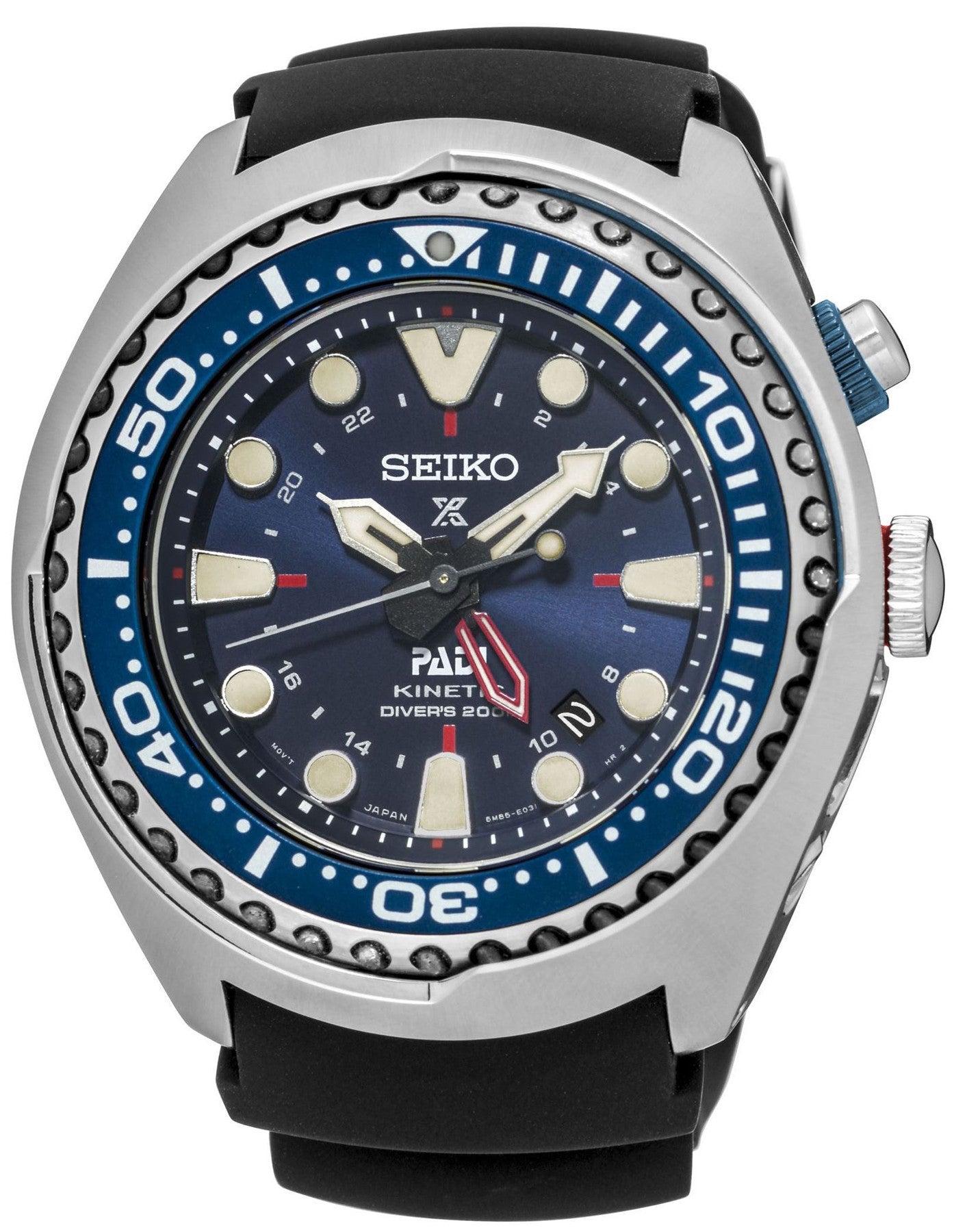 seiko kinetic divers watch manual