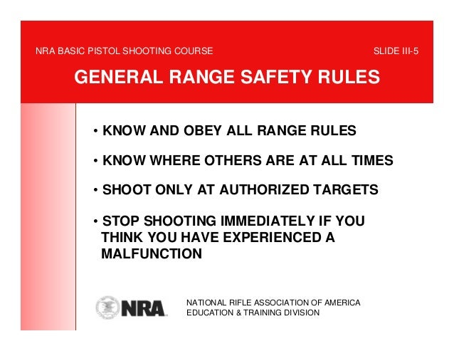 nra basic rifle course manual