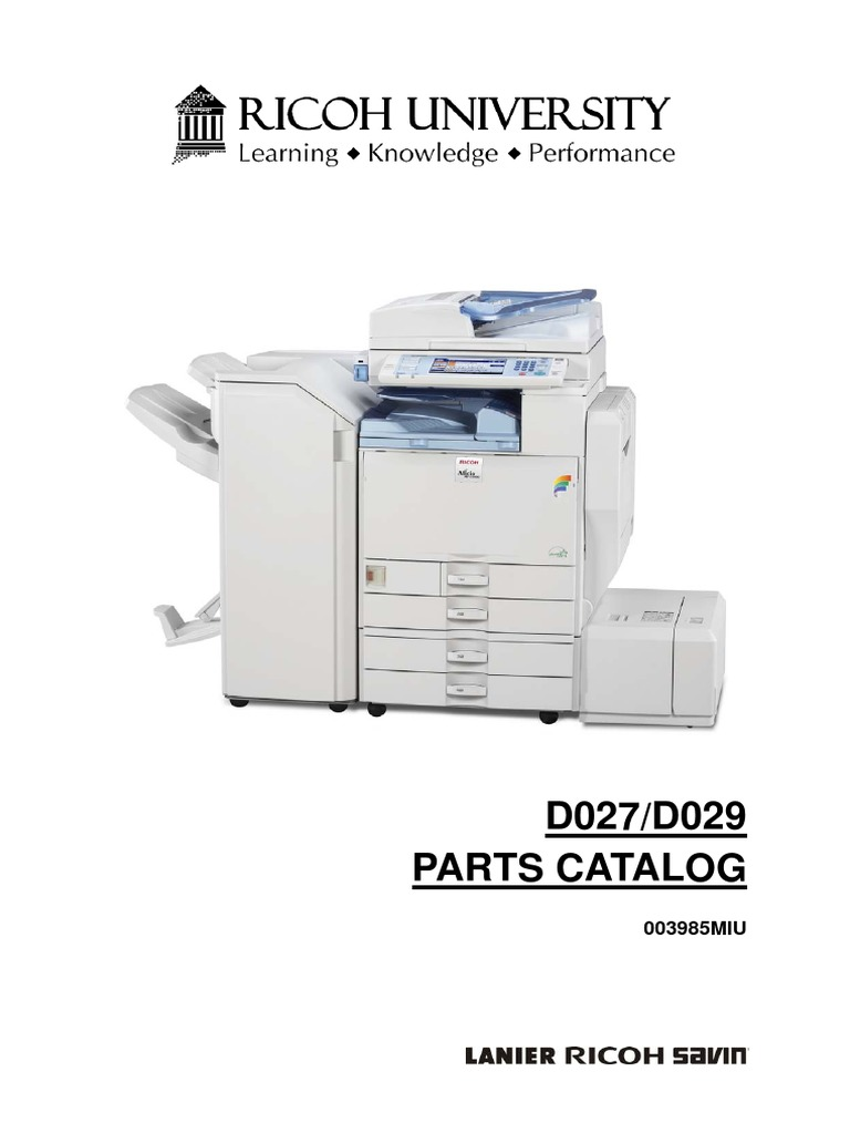 ricoh mp c4502 parts manual