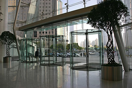 4 wing manual revolving door price