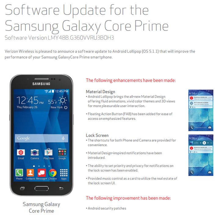 manually update to android 5.1