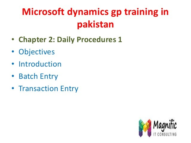 microsoft dynamics gp 10.0 manual