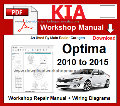 2002 kia optima repair manual pdf
