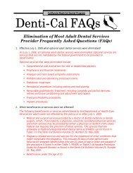 california medi cal provider manual