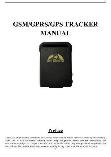 gt06 gps tracker manual portugues
