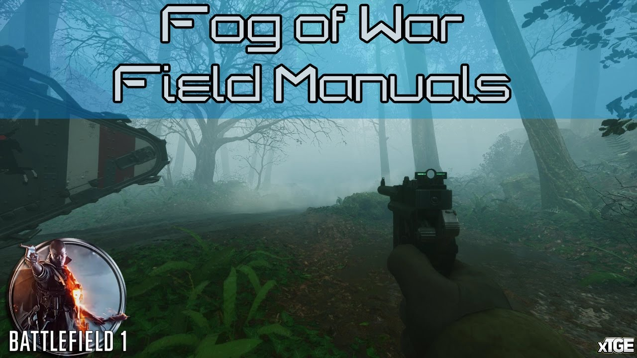battlefield 1 blood and mud field manual