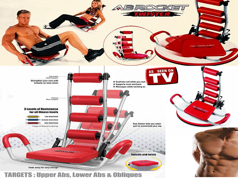 ab rocket twister abdominal trainer manual