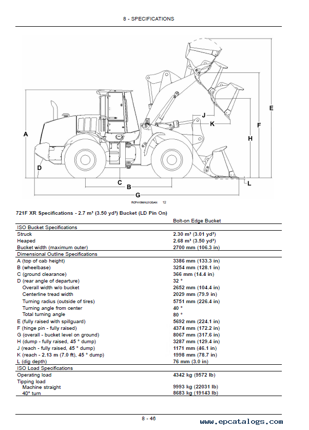 service manual for a case d
