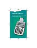 canon palm printer p1-dh v owners manual