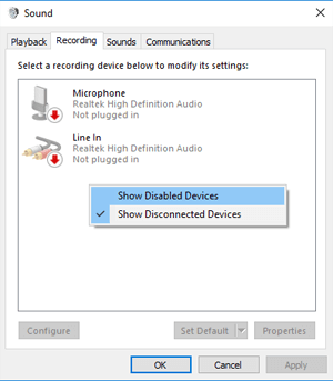 how to manually make speaker disabled