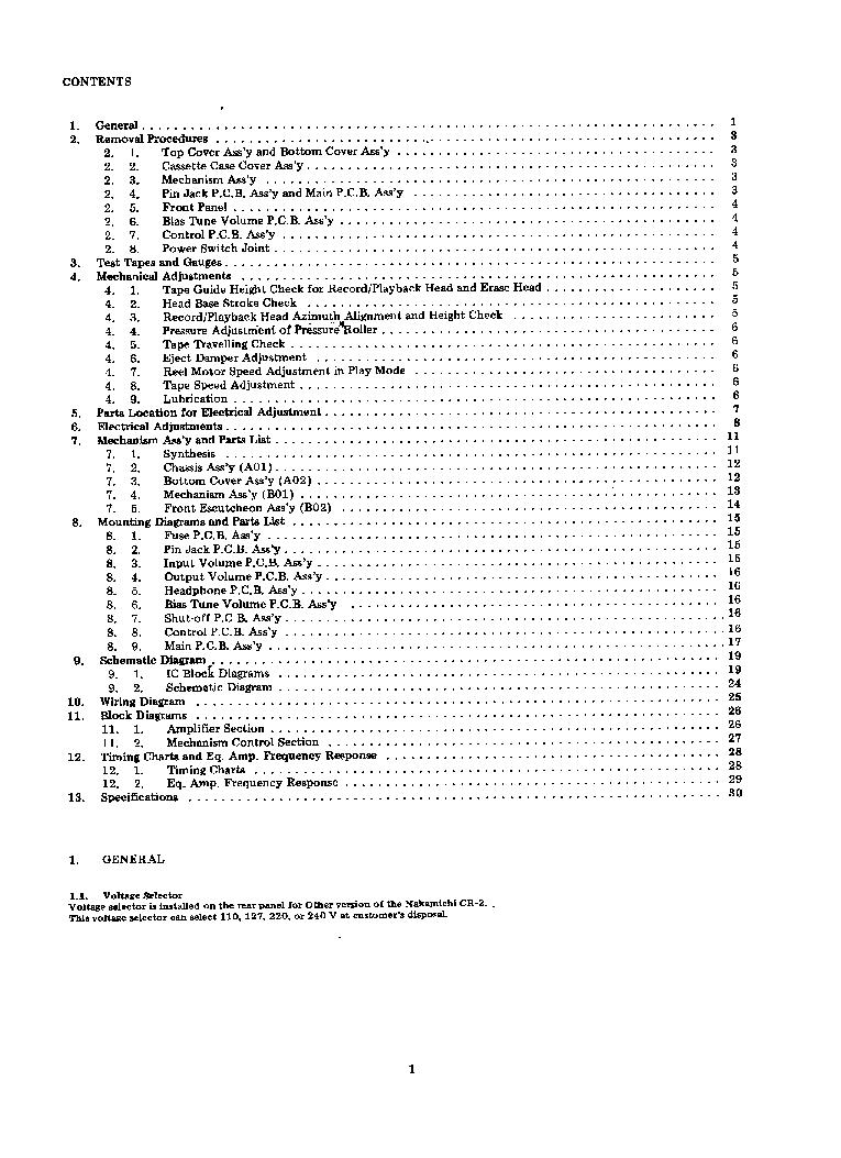 nakamichi cr-2 service manual
