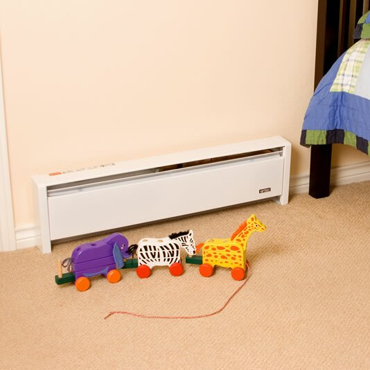 how to manually operate a baseboard heater