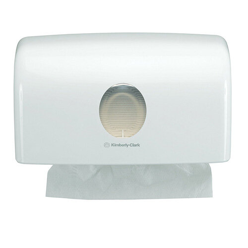kimberly clark brown paper towel manual dispenser