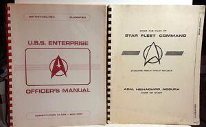 star trek technical manual ebay