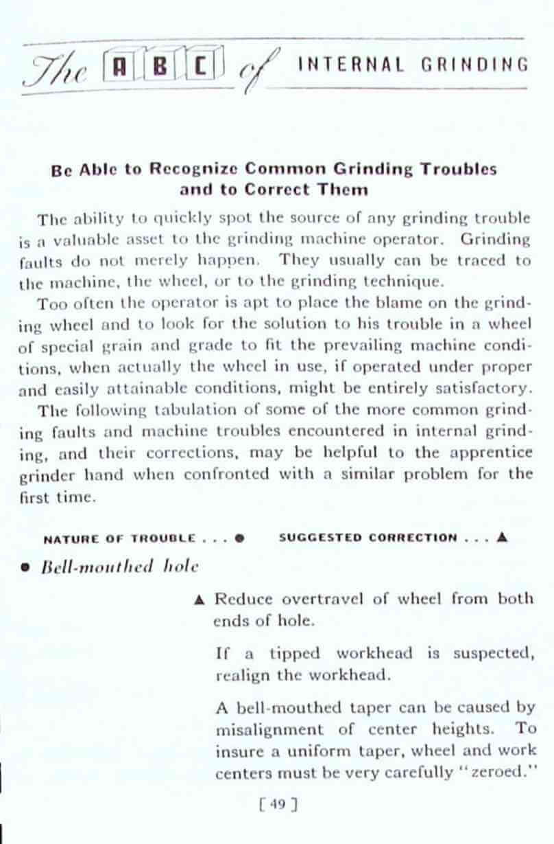 what to do when grinding manual